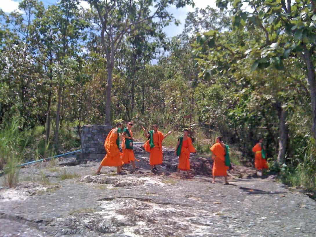 Monks Trail, Doi Suthep, Chiang Mai, Northern Thailand.