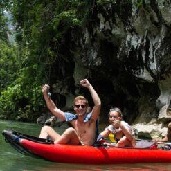 canoeing_CocoHostel_Khao Sok Thailand