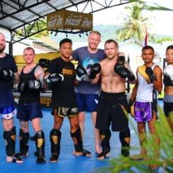 muay thai enthusiasts Punch It Gym Koh Samui Thailand