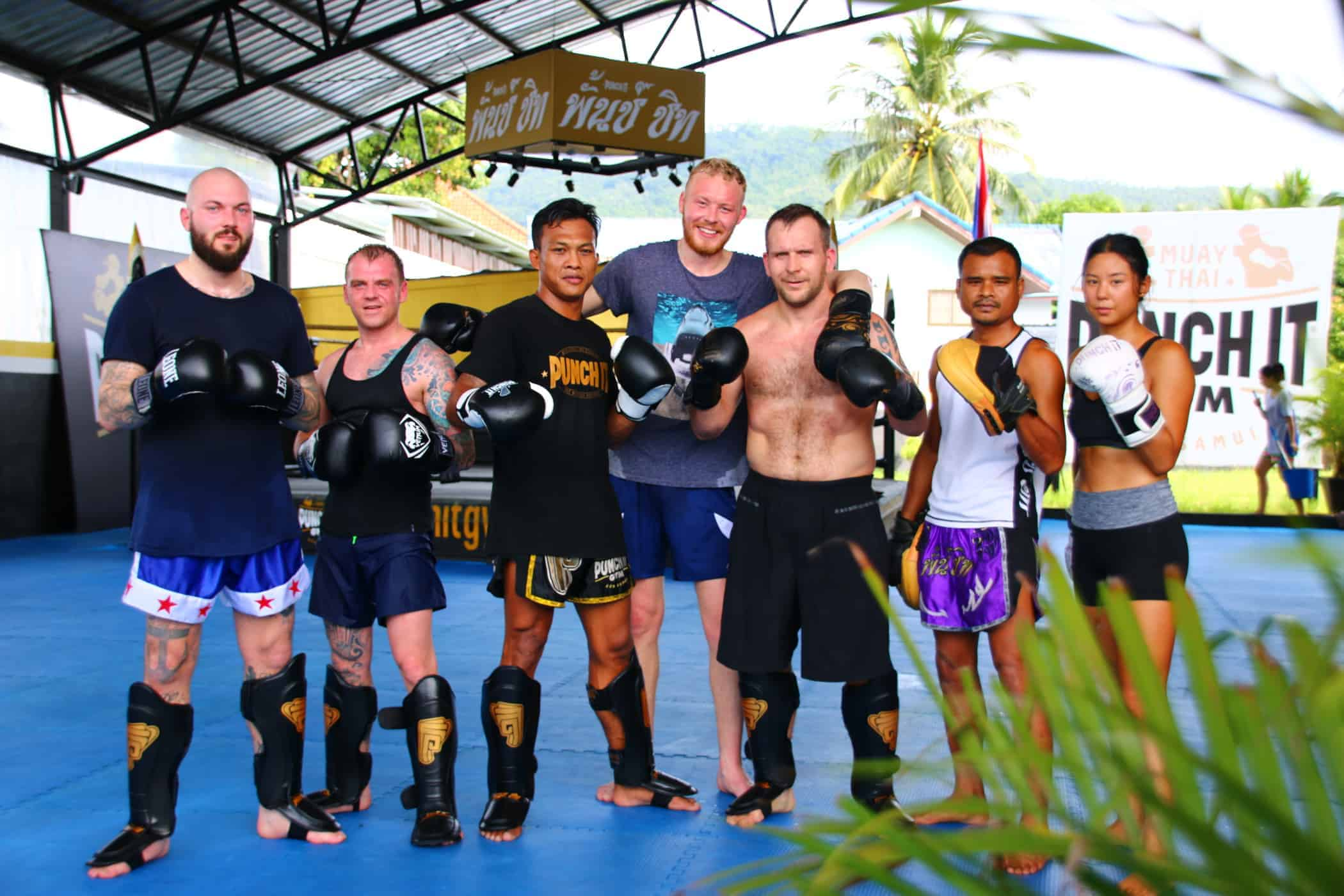 Building a stylish Muay Thai Camp for Boxing in Thailand with rich architecture