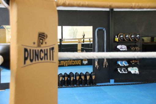 muay thai equipment Punch it Gym Koh Samui Thailand