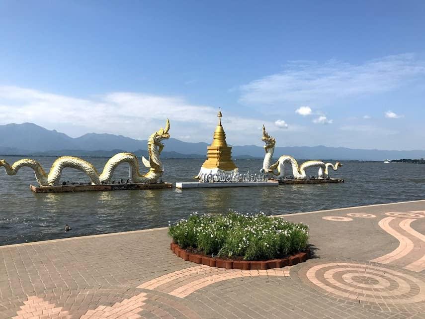 Phayao Lake, Phayao, Northern Thailand