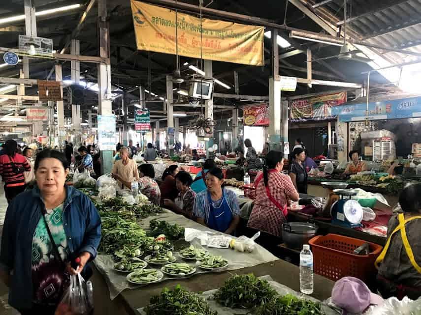 Phu Sang Market.