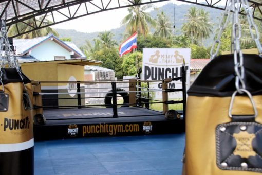 the gym Punch it Gym Koh Samui Thailand
