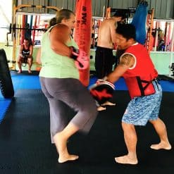 A Muay Thai Training Session