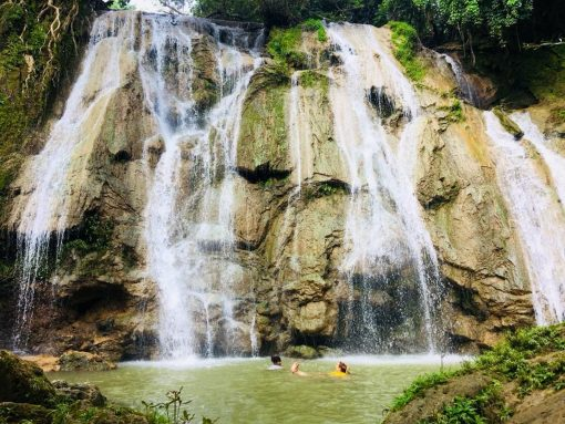 A Waterfall in Petchabun, Thailand