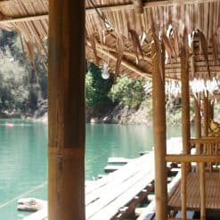 Our exquisite bungalows at Khao Sok National Park.