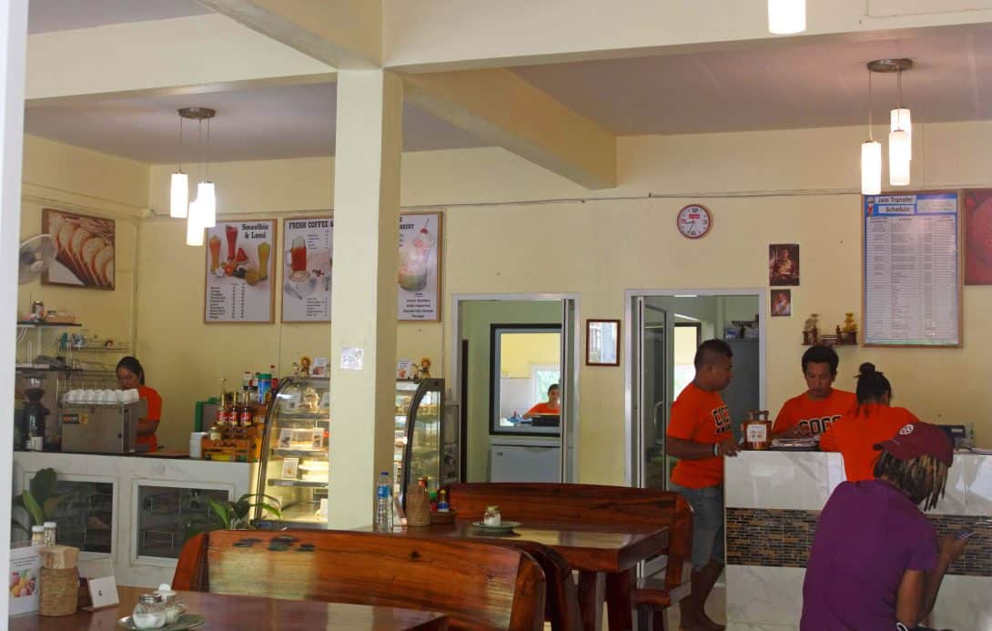 The Café at Coco Hostel in Khlong Sok Village, Khao Sok, Thailand