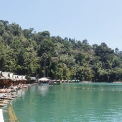 Khao Sok Floating Bungalow Trip!