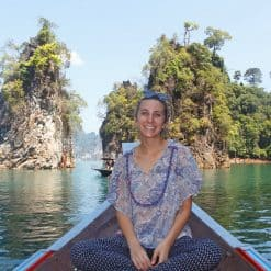 Kristen Toman at Khao Sok National Park, Thailand