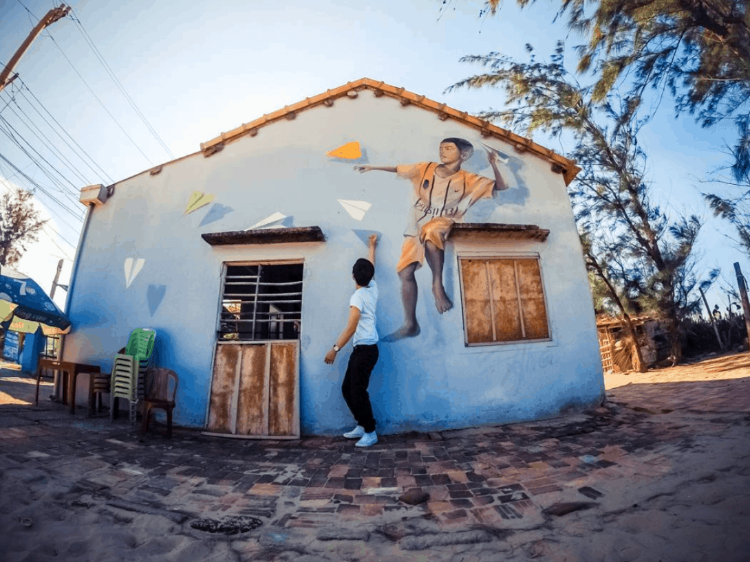 Tam Thanh Mural Village Hoi An