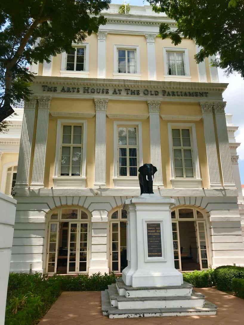 The Arts House at the Old Parliament Singapore.