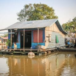 floating houses Siem Reap Cambodia