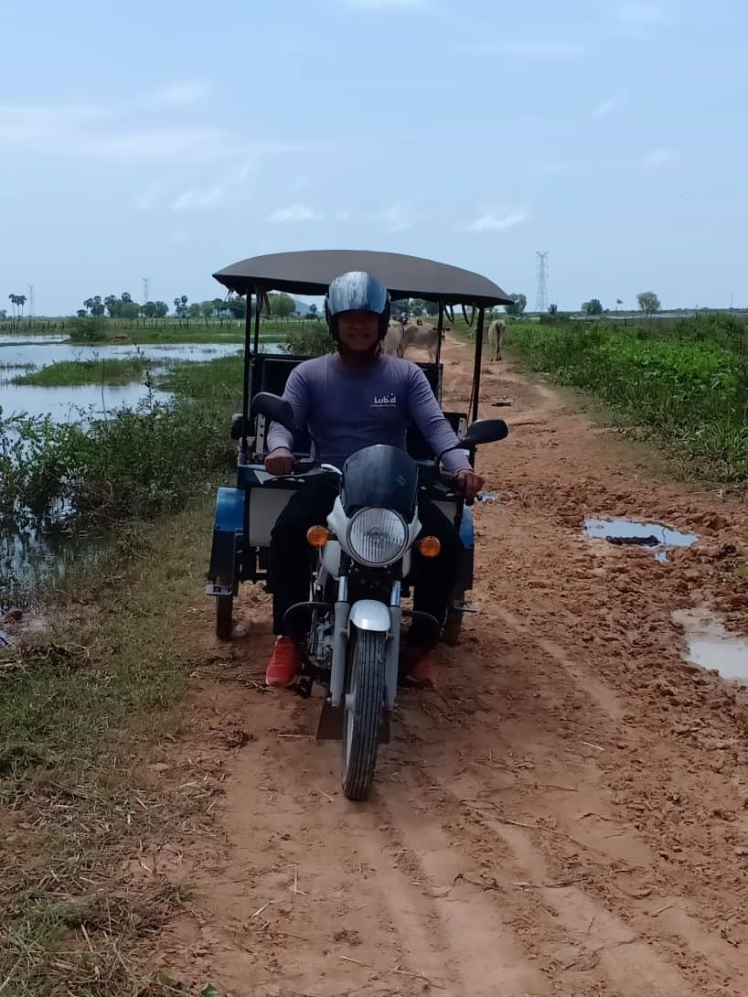 tuk-tuk Cambodia