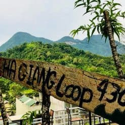 Ha Giang Loop sign