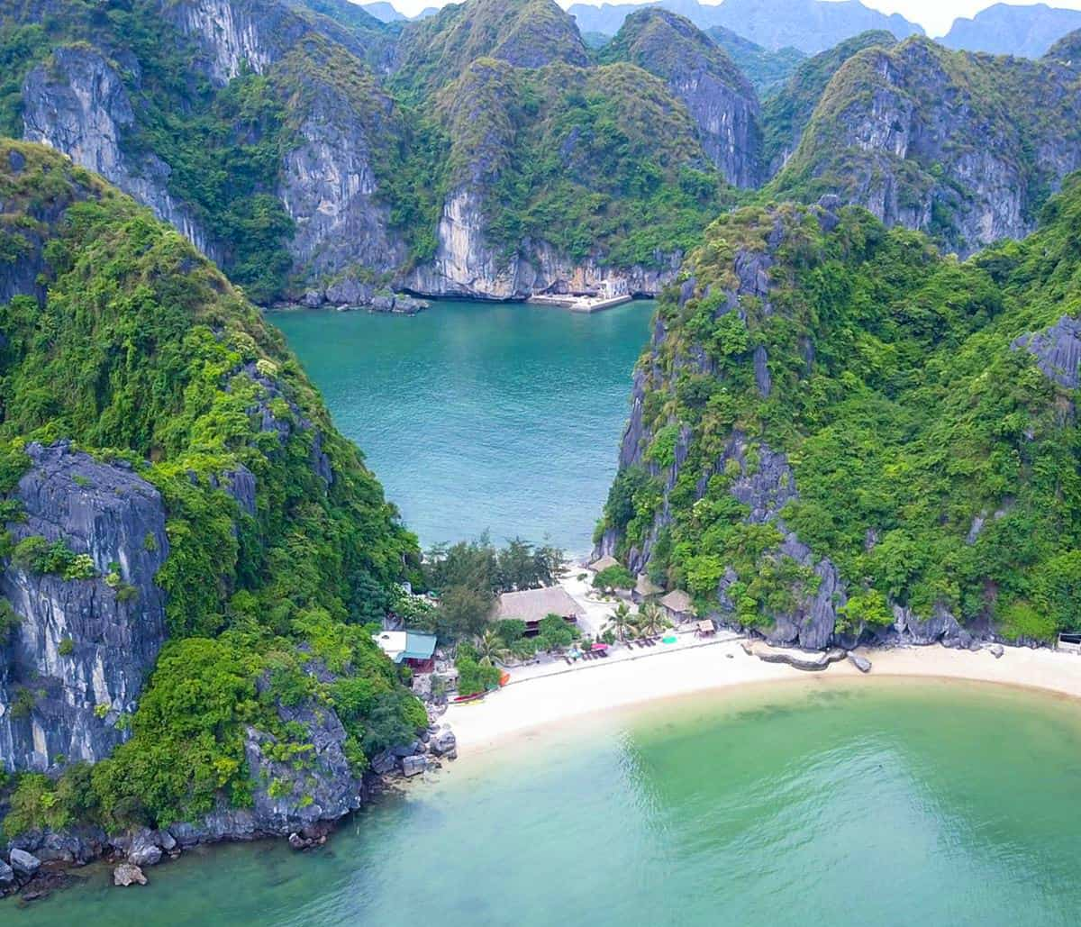 Freedom Island, Halong Bay, Vietnam.