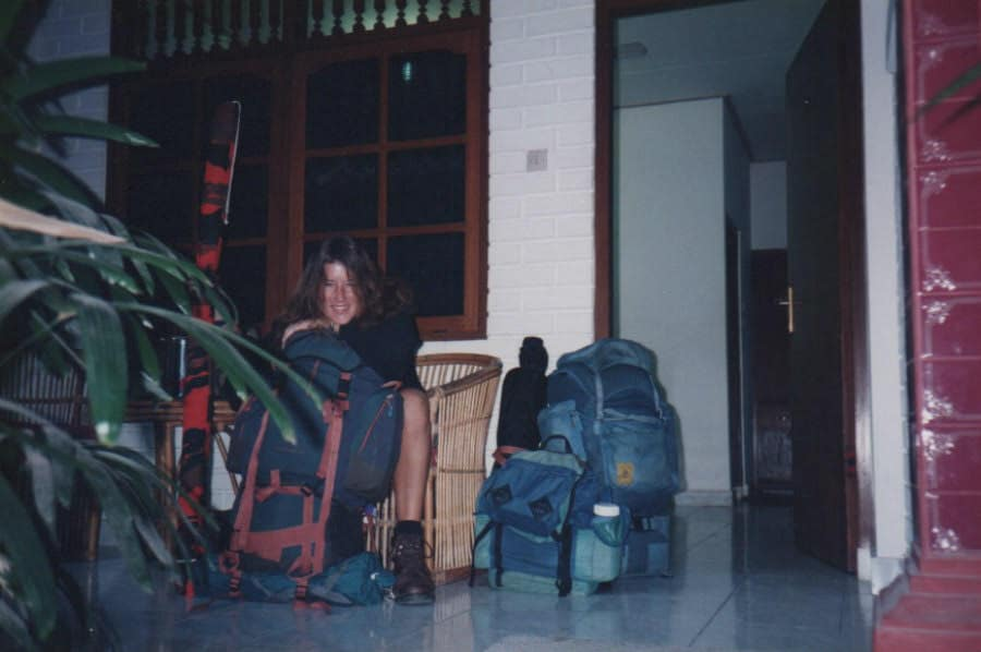 Old Backpacking Photo from Ali Couch
