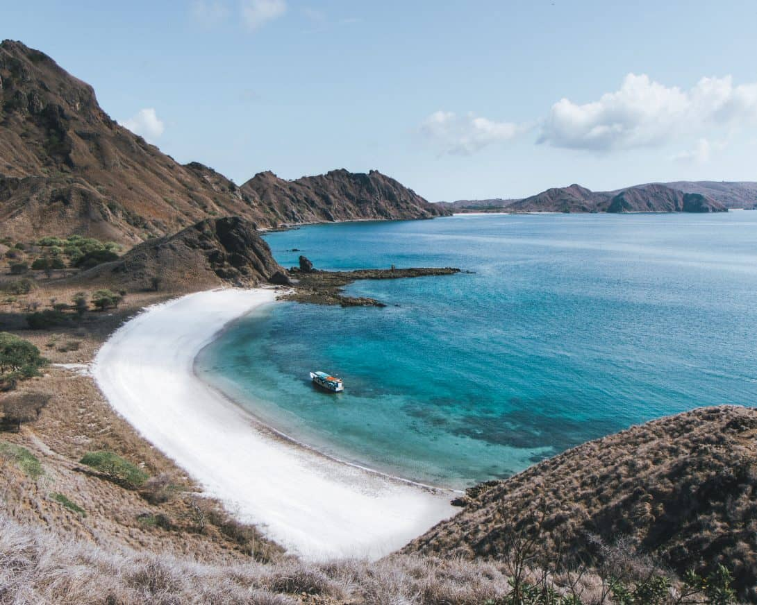 A Pristine Beach on Flores, Indonesia