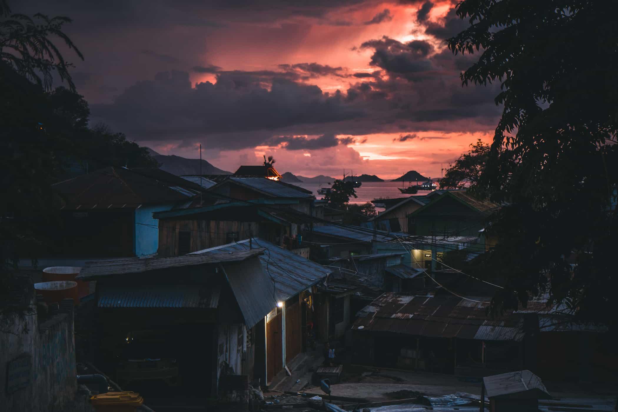 The Sun Sets Over Lebuan Bajo