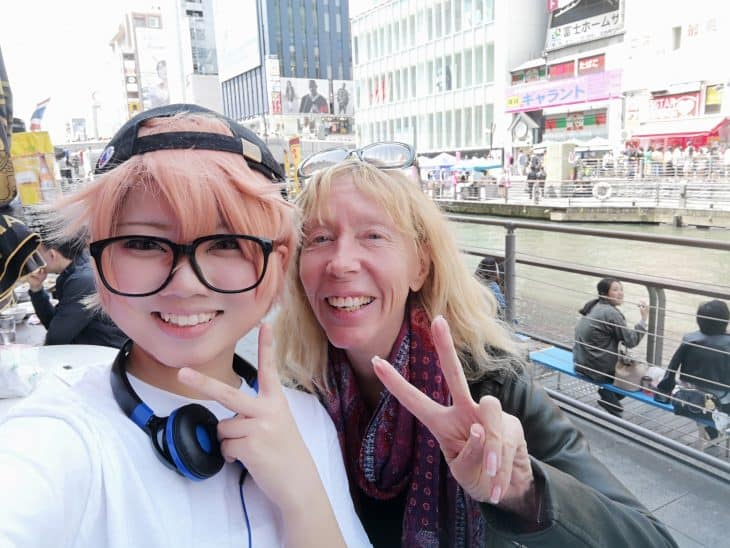 The Backpacker Granny in Tokyo