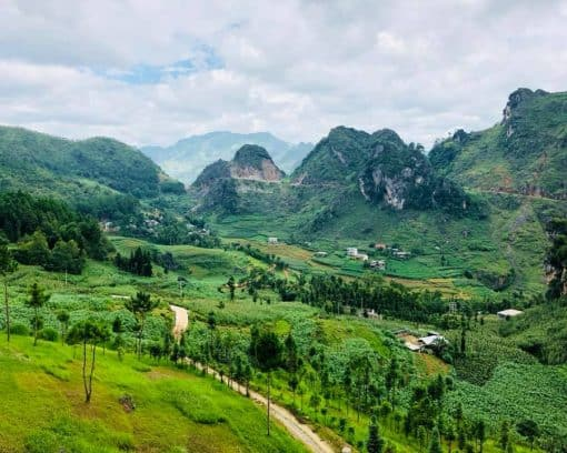 Scenery of Ha Giang, Vietnam