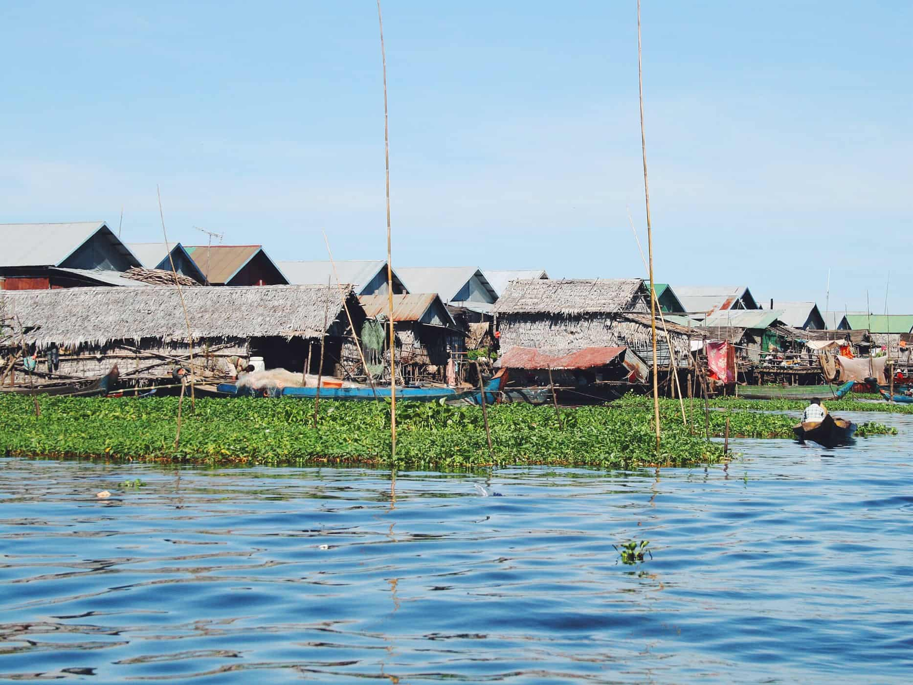 Floating village of Siem Reap, Cambodia.