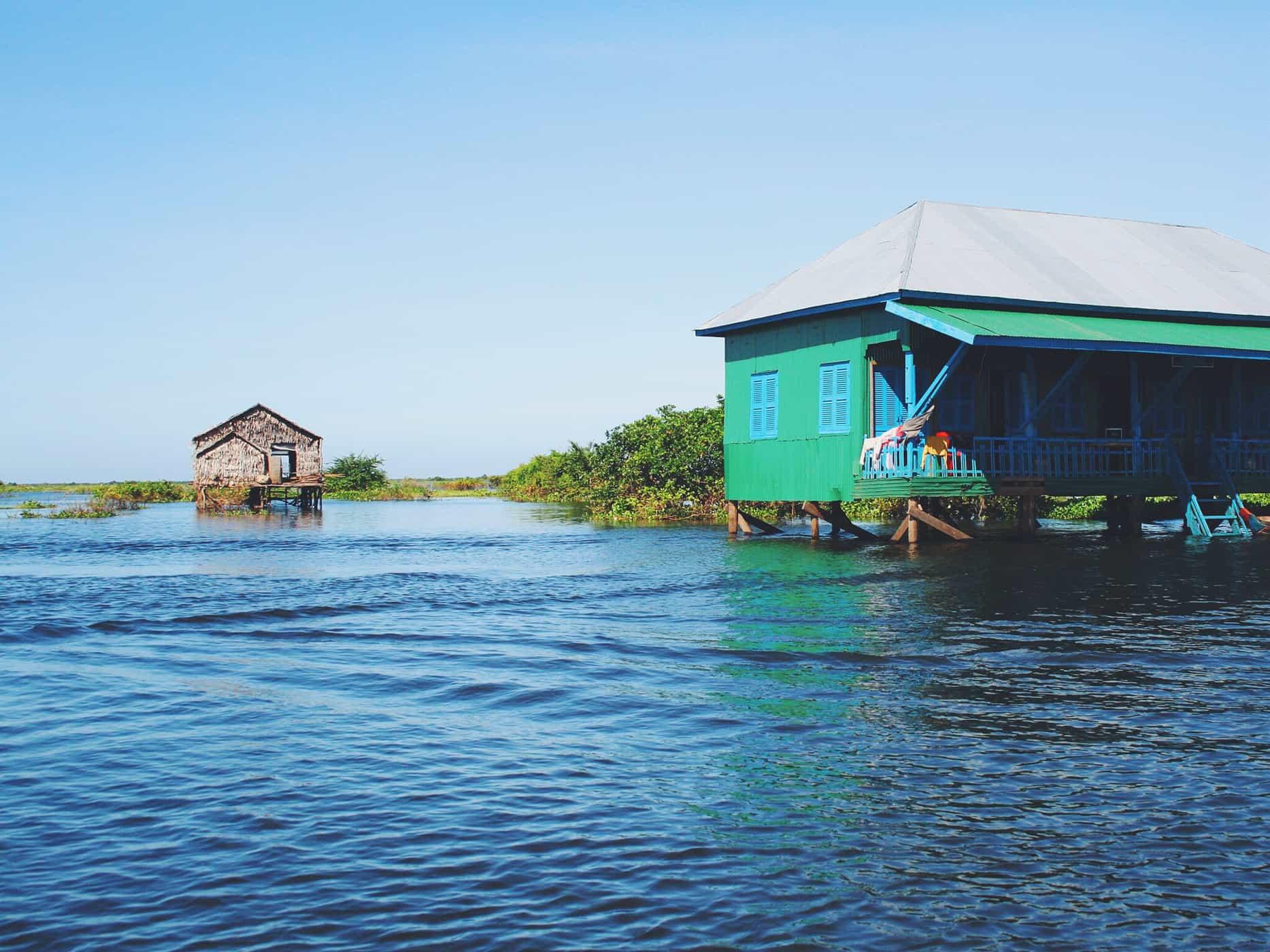 The Tonlé Sap Lake, Cambodia