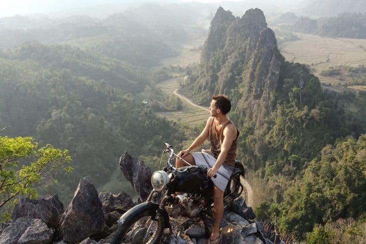 Nam Xay Viewpoint Vang Vieng Laos