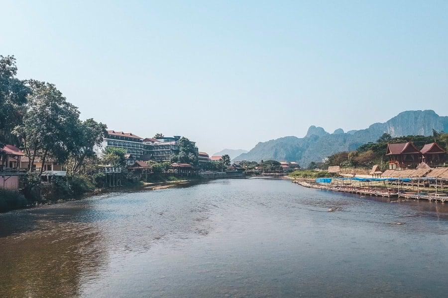 Vang Vieng - Nam Song River