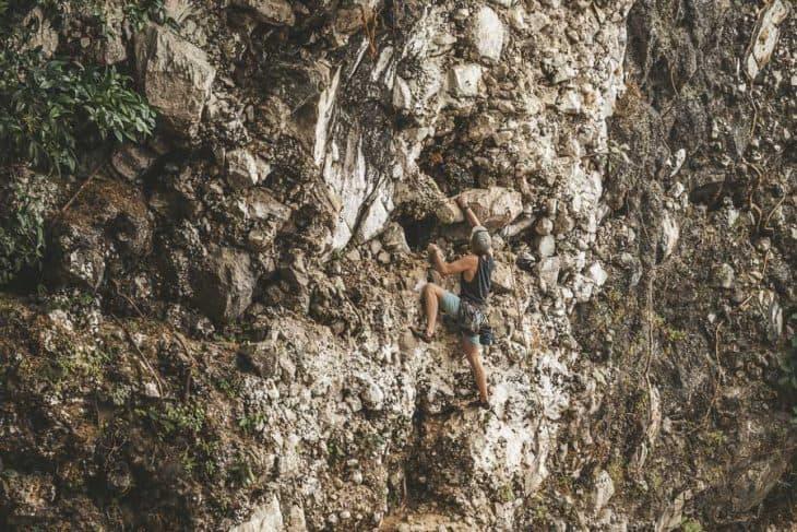 Climbing up the Karsts