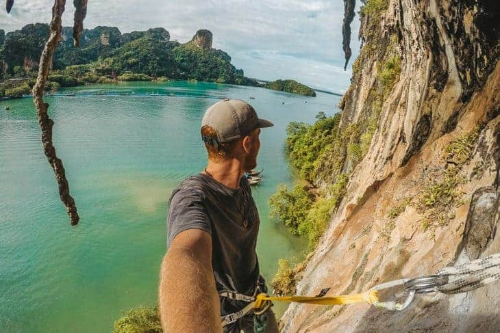 Rock Climbing at Railay, Krabi with Real Rocks Climbing School