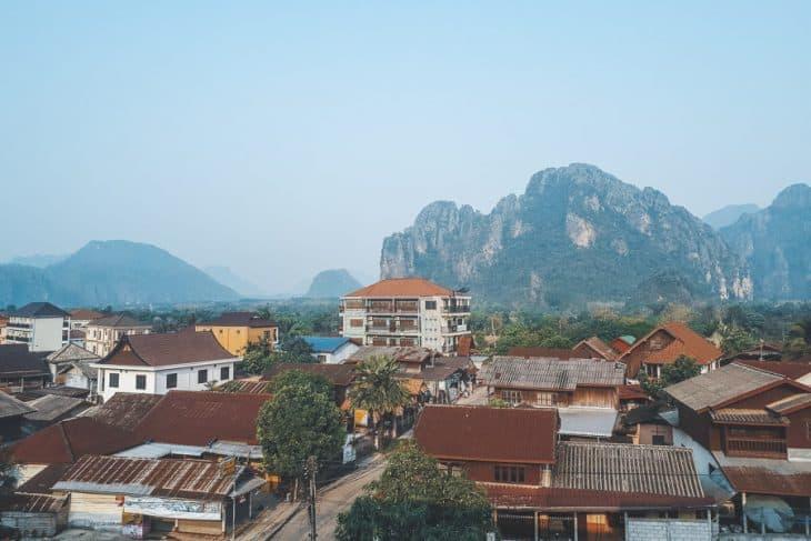 Vang Vieng Town