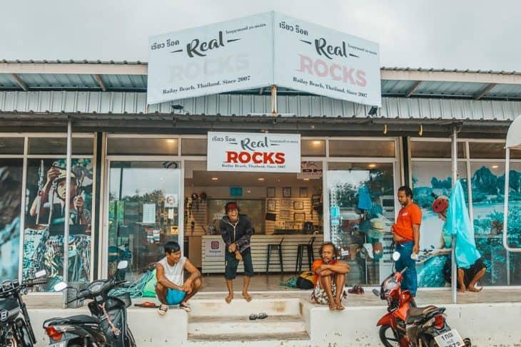 Real Rocks Climbing School Main Office
