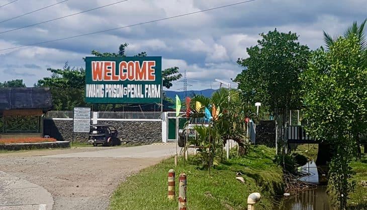 Iwahig prison entrance