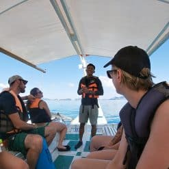 Tour guide on El Nido tour A