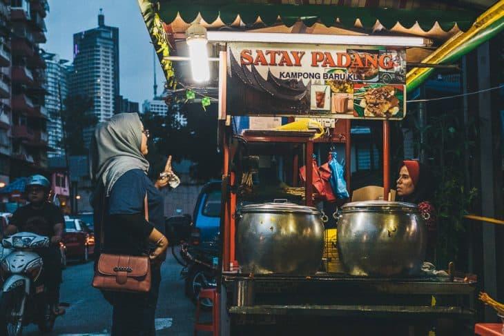 Satay Padang Stall
