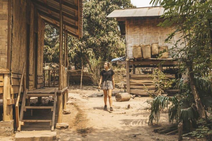 Wandering Around Na Lan Village