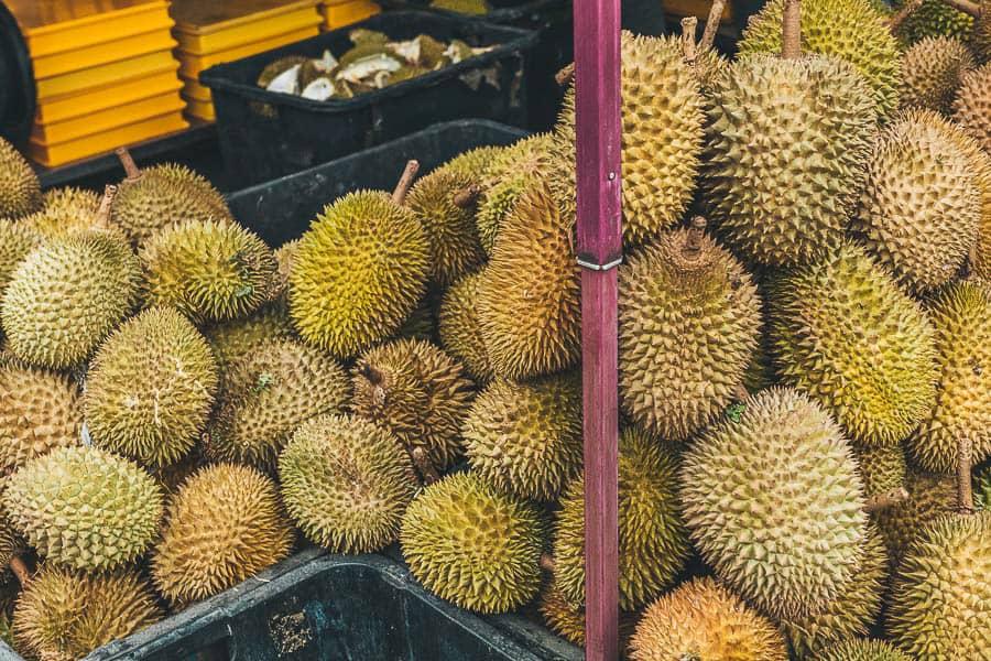 Durian Fruits at Chow Kit Market