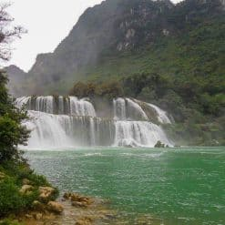 Ban Gioc Waterfall by Juha-Matti Viitanen
