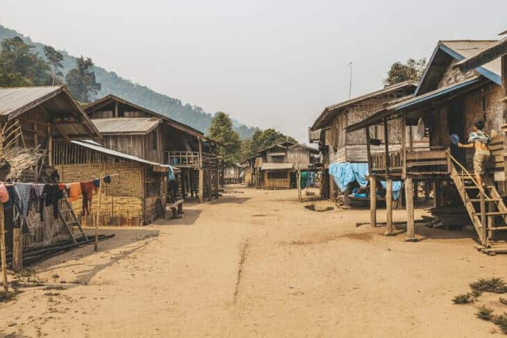 Luang Namtha ethnic minority village