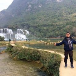 Ban Gioc Waterfall by Sanq Nquyen