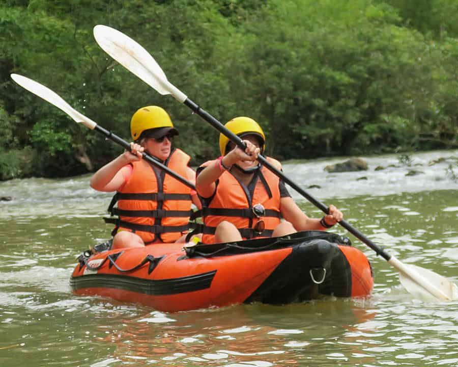 Kayaking and Trekking in Namha National Park | 2 Day, 1 Night | From LUANG NAMTHA, LAOS