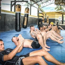 Training at Punch it Gym Koh Samui