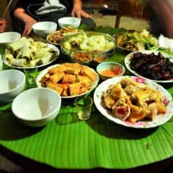 Dinner provided at homestay