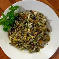Tea leaf salad 2