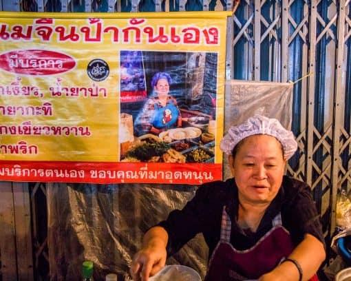 Local vendor in Bangkok