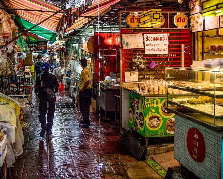 Local market Bangkok