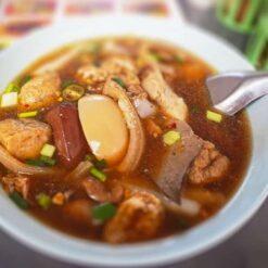 Street food dish in Bangkok