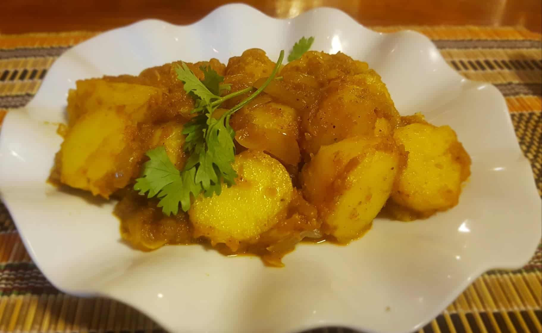 Burmese potatoes.