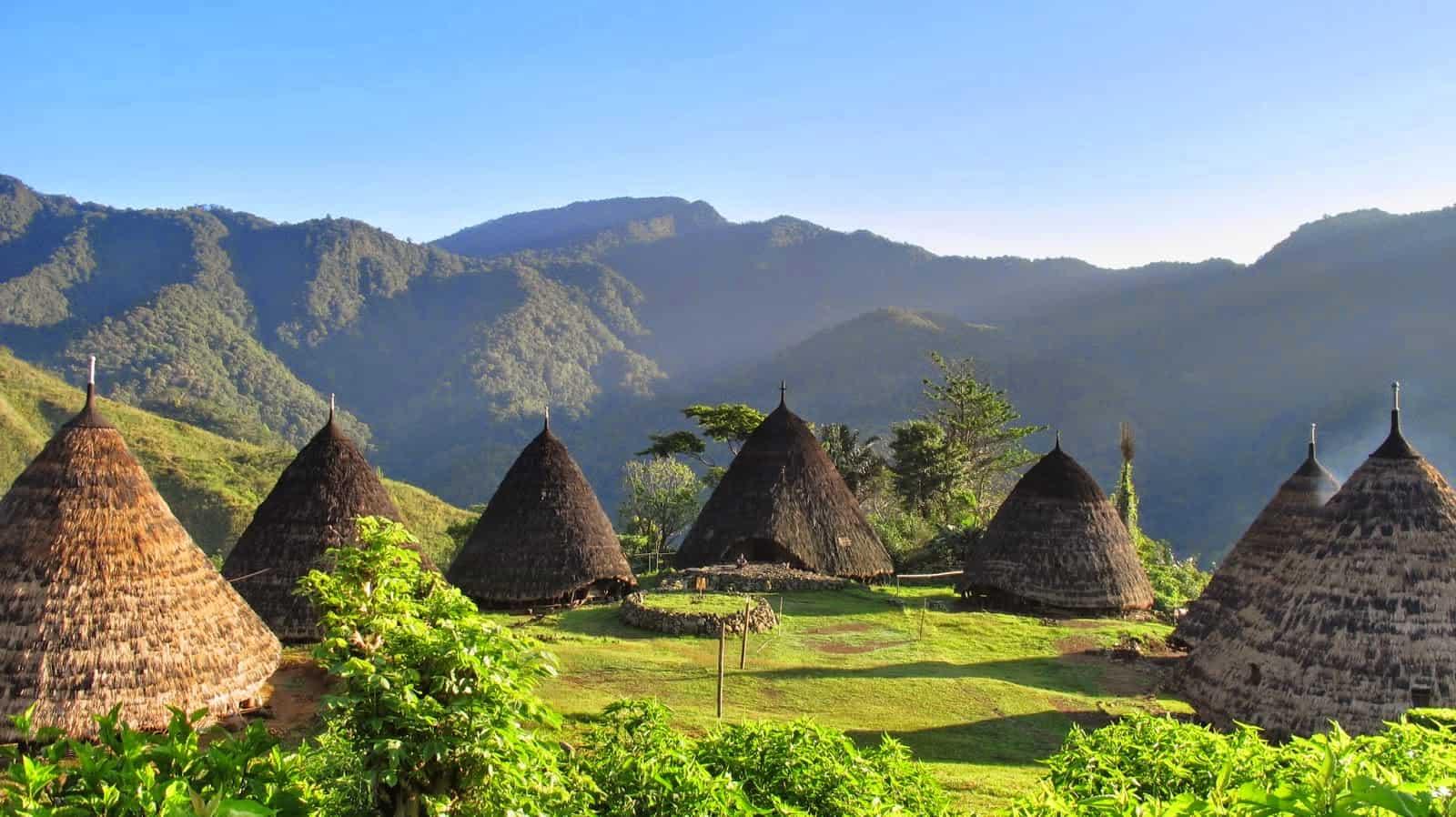 Wae Rebo Village, Flores, Indonesia.